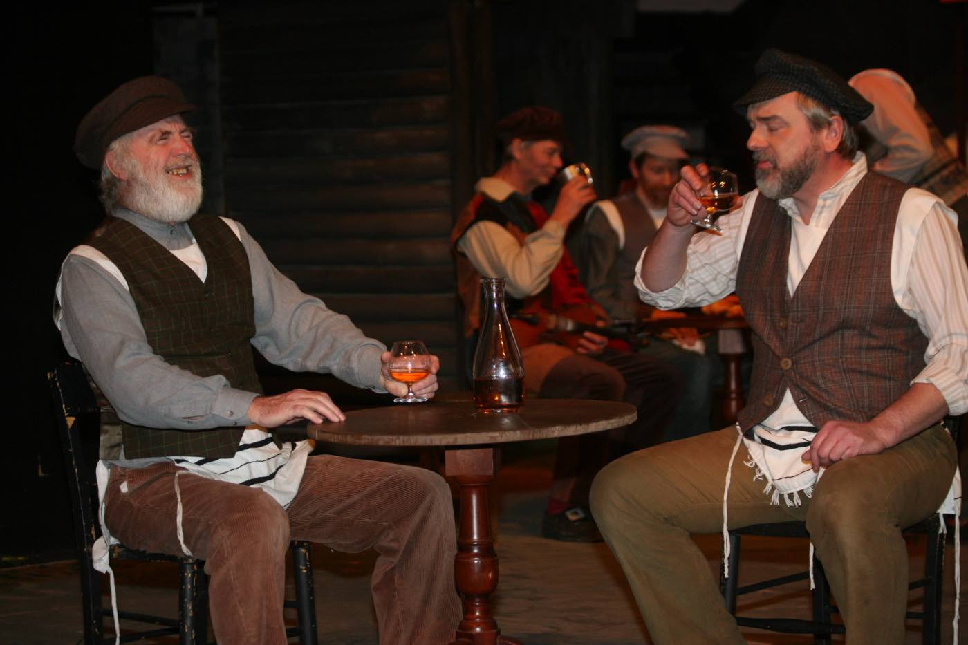 Photo of Lazar and Tevye