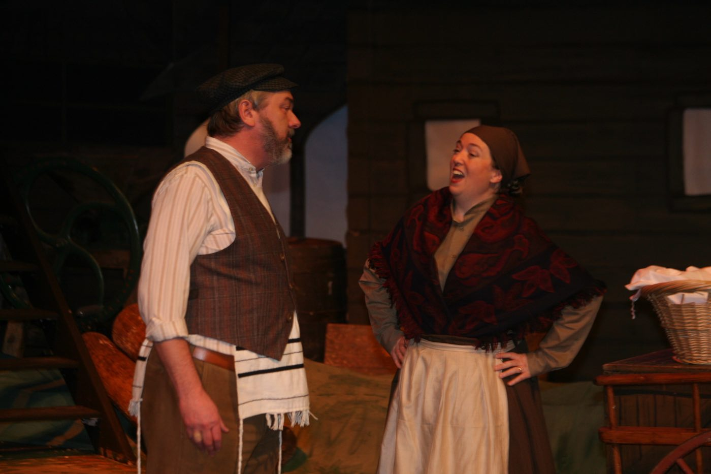 Photo of Tevye and Golde