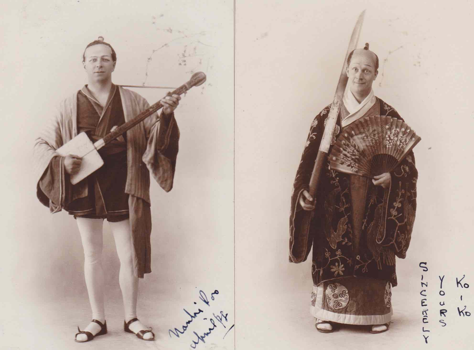 Photo of Nanki and Ko-Ko